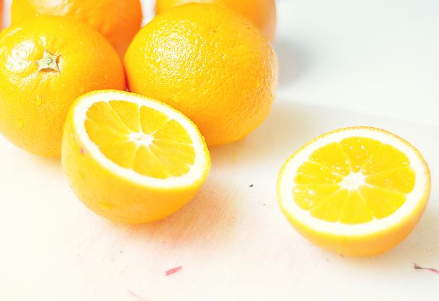 Rhabarber Orangen Sirup