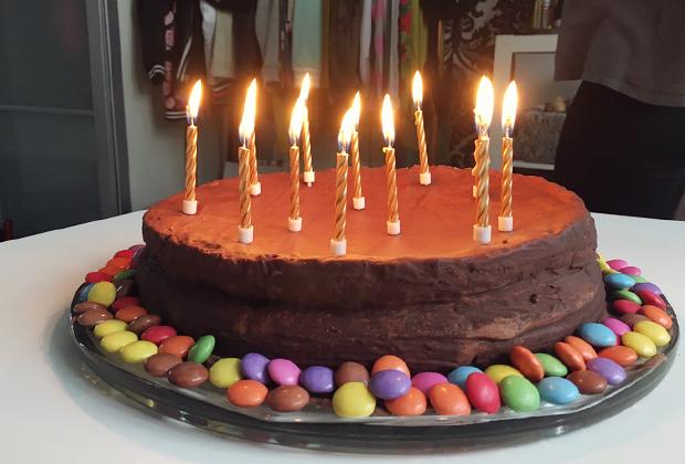 Geburtstag Feierei